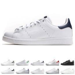 28788a260 2019 homens sapatos de verão casual branco Smith verão Sapatos Casuais  Barato Raf Simons Stan Smiths