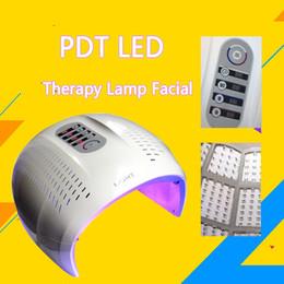 equipo fotónico de terapia de luz Rebajas Máquina PDT de alta calidad PHOTON FACIAL Rejuvenecimiento de la piel Rojo + Azul + Amarillo + Verde Equipo de terapia de luz LED