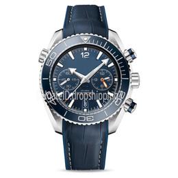 oceano limitado Desconto Relógio de luxo dos homens relógios mens James Bond Daniel Craig Planeta Oceano 600M SKYFALL Limited Edition aro de cerâmica borboleta fivela