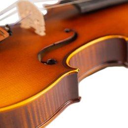 partes de violino usadas Desconto Artesanato Stripes Individual Backplate bordo acústico Violino Jujuba Parts com Full Set Acessórios para Estudantes