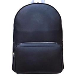 2019 zaino in pelle rosso azzurro bianco Zaino da viaggio Genuine Leather MB zaino di marca Zaino classico per gli uomini