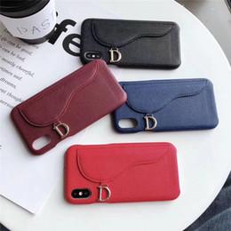 2019 crédito total Luxo pu leather phone case para iphone x xs max xr 8 7 6SPlus Cobertura Completa Shell Caso Do Telefone com slots de cartão de crédito crédito total barato