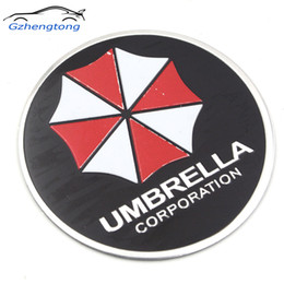 motocicletas mazda Desconto Gzhengtong Umbrella Corporation 3D de Alumínio Da Motocicleta Etiqueta Do Carro 75mm Adesivo Para ford focus bmw mazda opel toyota tampa do carro