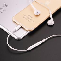 Наушники разъем для наушников адаптер конвертер кабель освещения 3,5 мм аудио разъем Aux адаптер для IOS шнур iPhone7 iPhone 7 Plus 300 шт. cheap cable connectors от Поставщики кабельные разъемы