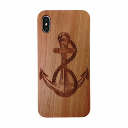 Canada Etui rigide en bois naturel avec protection pour pare-chocs iphone 6 6s 7 8 8p X Xs cheap iphone 6s wood cover Offre