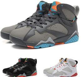 new style 5ae5b 66ac2 2019 pantone azul 7 7s zapatos de baloncesto para hombre GMP Fadeaway UNC Pantone  University blue