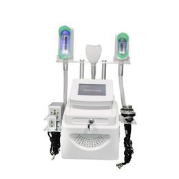 Congelación máquina fría online-La mejor máquina de criolipólisis Lipo La congelación de la grasa fría criolipólisis que adelgaza la máquina con cavitación ultrasónica rf lipo láser