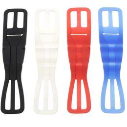 2019 tavoletta magnetica Nuova fascia elastica di sicurezza in gomma siliconica per bici moto manubrio supporto per auto supporto culla biciclette telefoni stand
