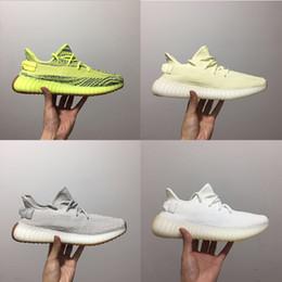 2019 mehrfarbige laufschuhe Klassische farblich passende Butter Sesam Beluga 2.0 Kanye West Herren und Damen Sneaker Sport Laufschuhe günstig mehrfarbige laufschuhe