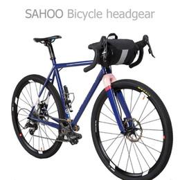 Fahrradtaschen körbe online-Fahrrad Lenkertasche 3L Wasserdichte MTB Rennrad Vorderkorbtasche Praktische Aufbewahrung Trinkbare Tasche Fahrradzubehör