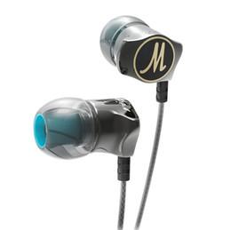 iphone boîtier plaqué or Promotion Nouvellement écouteurs QKZ DM7 édition spéciale boîtier plaqué or casque isolement du bruit HD HiFi écouteurs auriculares fone de ouvido