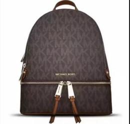 zaino di marca di stile della stella Sconti zaini designer 2019 moda donna signora nero rosso zaino borsa charms spedizione gratuita