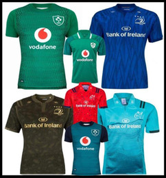Canada 18 19 Irlande Maillots de rugby Irlandais IRFU NRL Munster City Rugby à XIII Leinster maillot de remplacement 2018 2019 2020 ulster Irishman shirts cheap rugby shirts xxl Offre