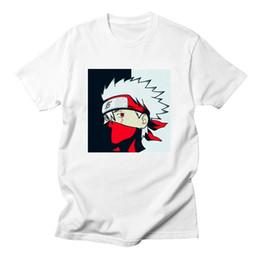 2019 sasuke uchiha camisa Naruto camiseta hombres Uchiha Itachi Uzumaki Sasuke Kakashi Gaara camiseta Naruto Boruto Japón Anime camisetas Top camiseta sasuke uchiha camisa baratos