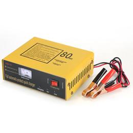 6v lithiumbatterien online-6V / 12V Intelligentes Batterieladegerät Automatische Impulsreparatur Typ Maintainer für Blei-Säure-Batterie Lithium 120W AC110V-250V