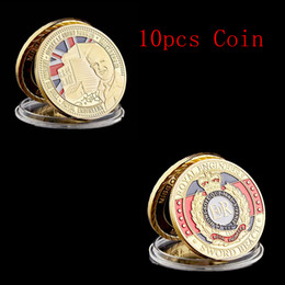 Battle for Normandy Sword Beach Royal Badge 24K Gold Plated Coin Token