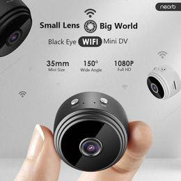 alarma dvr de red Rebajas A9 Mini Wifi de la cámara 1080P HD cámara de vigilancia remota cámara de visión nocturna Home Security Monitor