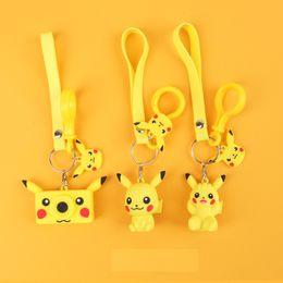 2019 chaveiros bebês Pikachu Chaveiro Pingente Artefato Bebê Animação Boneca Brinquedos Bonito Presente Criativo Chaveiro Anel Pingente de L249 chaveiros bebês barato
