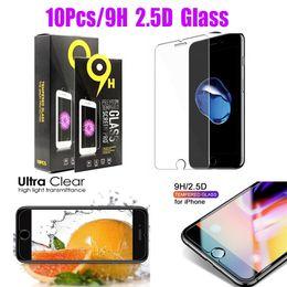 samsung galaxy a5 duos Desconto Hot tela de telefone celular Protetores de vidro para Iphone 6 7 8 11 Pro Plus X XR XS MAX vidro temperado claro protetor de tela