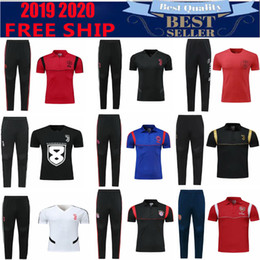 2019 polo sport blue 2019 Bayern Munich Polo Red Soccer Jersey 19 20 real mrdrid Blue Soccer Polo Uniformes de fútbol negro camisa de deporte Venta rebajas polo sport blue
