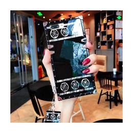 caixa do telefone da orelha do gato do iphone Desconto Casos Designer de luxo telefone para iphone 11 Pro Max XR 6 7 8plus Moda Casos padrão telefone para Samsung Galaxy Nota 10 S8 9