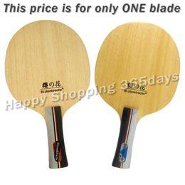 Raquetes de madeira on-line-Kokutaku BLutenkirsche B3008 Full Wood Plus lâmina de raquete de tênis de mesa de carbono Fibe