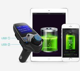 Kit de voiture mains libres Bluetooth T11 avec chargeur de port USB et support de transmetteur FM, lecteur de musique MP3 TF VS VS BC06, Kit de voiture T10 X5 G7 ? partir de fabricateur