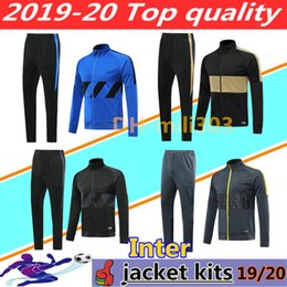 fatos de treino completos Desconto Jaquetas de kits de treino INTER 2019 2020 ICARDI nainggolan CANDREVR 19 20 jaqueta de fato de treino veste set