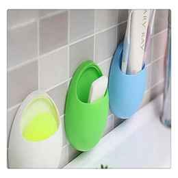 2019 ganci di aspirazione all'ingrosso Commercio all'ingrosso bianco verde blu rosa bianco del supporto dello spazzolino da parete della tazza di aspirazione della cucina della doccia del bagno ganci di aspirazione all'ingrosso economici