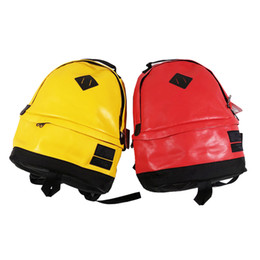 black yellow sports backpack Coupons - Hot brand backpack designer backpack outdoor sports bag travel bag book bags Unisex leisure bags free shipping