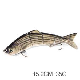 3 Bölümleri çok eklemli lures üreticileri balıkçılık lures, Yeni ürün 15.2 cm 35g yapma sert plastik balıkçılık lures nereden