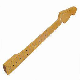 2019 sellette tremolo Manche Guitare Electrique Jaune Classique TL Original Neck One Maple 22