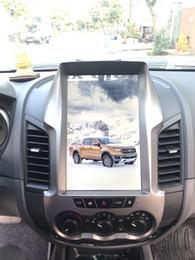 12,1-дюймовый экран онлайн-ЭКРАН СИСТЕМЫ МУЛЬТИМЕДИЙНЫХ АВТОМОБИЛЕЙ Android FORD RANGER в стиле Тесла 12.1 ДЮЙМОВ Горячая точка GPS / ВИДЕО / АУДИО / WIFI / BLUETOOTH