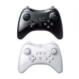 Klassischer controller pro online-Wireless Game Controller Spielen für Nintend für Wii U Pro Controller USB Classic Dual Analog Bluetooth Wireless-Fernbedienung