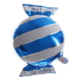 Deutschland Süßigkeiten Folienballons Helium Ballon Hochzeit Dekorationen Ballon Luftkugeln alles Gute zum Geburtstag Ballons Aufblasbare Spielzeug Party Supplies cheap inflatable candy decorations Versorgung