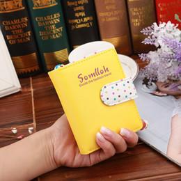 cajas de lunares Rebajas Cremallera Tarjetas de caramelo Monederos corto de los lunares en Piel de cerco para regalo de las mujeres de las muchachas de la venta caliente 8 5MP UU