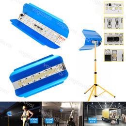 2019 iluminação eficiente Levou a luz de engenharia de lâmpada de tungstênio de iodo refrigerar eficiente Vida longa Ultra-baixo consumo de energia à prova d'água Ac180-260V 50W 100w DHL desconto iluminação eficiente