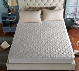 Zwillingsblätter weiß online-Baumwollbettwäsche Luxus Hotel Qualität Topper Ultra Soft Luftstrom Mikrofaser Matratze Baumwolle Spannbetttuch König Königin Twin