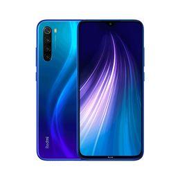 xiaomi redmi nota telefono Sconti Originale Xiaomi redmi Nota 8 4G LTE del telefono cellulare 4 GB di RAM 64 GB ROM Snapdragon 665 Octa core Android Phone 48MP Fingerprint ID Viso mobile 6.3