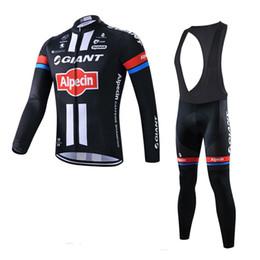 GIGANTE equipo Ciclismo mangas largas (bib) conjuntos de pantalones 2018 Nueva llegada Montar MTB Quick Dry F1202 / desde fabricantes