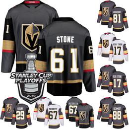 Tasse stein online-2019 Stanley Cup Playoffs 61 Mark Stone Vegas Golden Knights-Trikot 17 Vegas Strong 67 Max Pacioretty 75 von Ryan Reaves 73 Brandon Pirri-Trikot