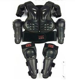 saxo tinkoff велоспорт джерси Скидка Детский мотоцикл Мотокросс Жилет бронежилет Дети грудь Защита позвоночника с локтя наколенник на 5-14 лет