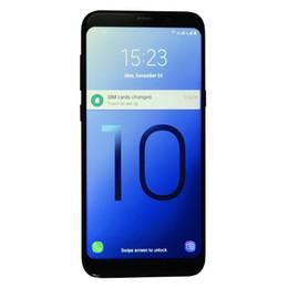 Quad google онлайн-Новый Goophone S10 Plus 6,3-дюймовый S10 + Goophone с Face Iris ID смартфон WCDMA 3G Quad Core Ram 1 ГБ ROM 8GB Android 7.0 Камера 8.0MP
