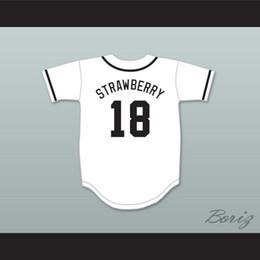 2019 fresa de diamante Darryl Strawberry 18 Salamanders Béisbol Jersey 1er Rock Derby Anual Diamond Derby fresa de diamante baratos