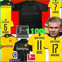 camiseta de santa cruz Desconto 110 Borussia Dortmund Haaland 11 REUS Futebol SANCHO Paco Alcácer M.GOTZE BRANDT PERIGO futebol camisas de manga curta Camisola de Futebol
