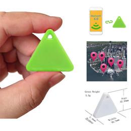 Nouveau Ultra-mince Triangle Smart Mini Bluetooth Tag Tracker Porte-clés Pet Enfant Trouveur GPS Localisateur Alarme ? partir de fabricateur
