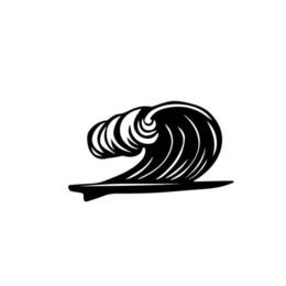 2019 autoadesivi grafici sportivi auto Tavola da surf Wave Sport Home Decor Car Truck Window Decal Sticker Decalcomanie Cool Graphics Decor autoadesivi grafici sportivi auto economici
