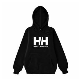 Красные белые синие толстовки онлайн-Men's Fashion Clothing Helly Hansen  Letter Logo Print hoodies Red, black, pink, white, gray, dark gray, blue Sweatshirts