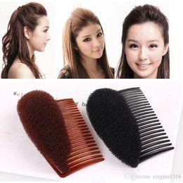Cabelo puffs acessórios on-line-Novo Puff Hair Paste Enhancing Princess Hairstyle Penteado Rabo de Cavalo Dispositivo Pente Styling Tools para Mulheres Acessórios Para o Cabelo