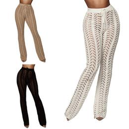 ASKATE Seksi Tığ Bikini Cover Up Yaz Pantolon Kadın Plaj Pantolon Pantolon Mayo mayo mayo kapak ups oymak Beachwear nereden